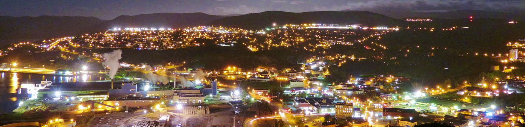 Corner Brook in the Evening